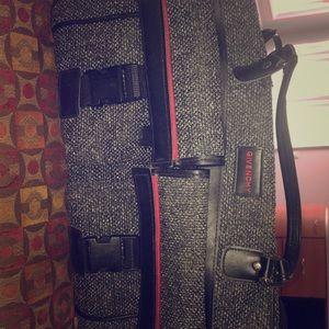Vintage givenchy travel luggage